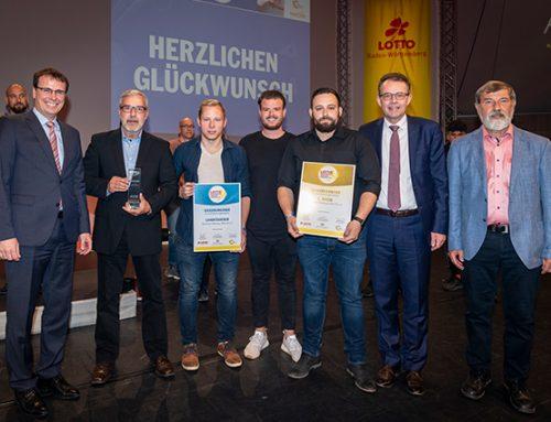 Lotto Sportjugend-Förderpreis 2018 im Europapark verliehen