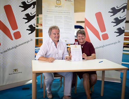 Erste N!-Charta Sport am Olympiastützpunkt unterzeichnet