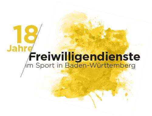 Das FSJ im Sport wird 18! – Großes Freiwilligendienste Jubiläum
