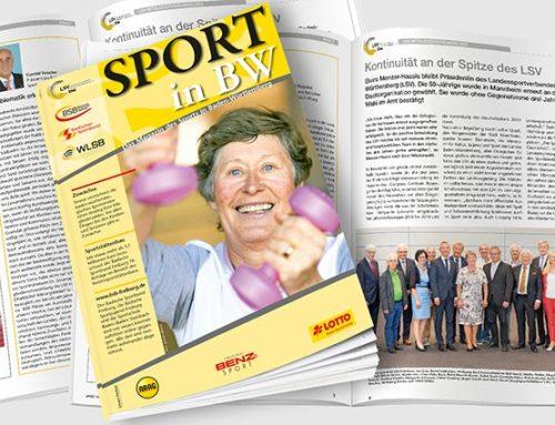 Neue Ausgabe von Sport in BW erschienen