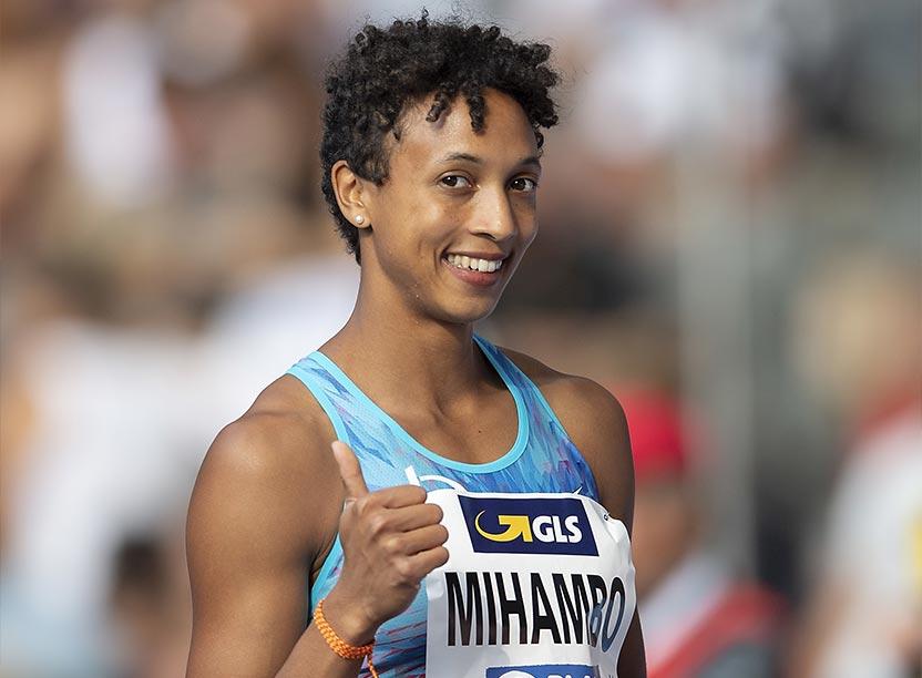 Mit 7,16m gewann Malaika Mihambo den Titel