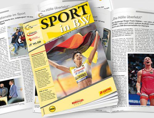 November-Ausgabe von Sport in BW erschienen