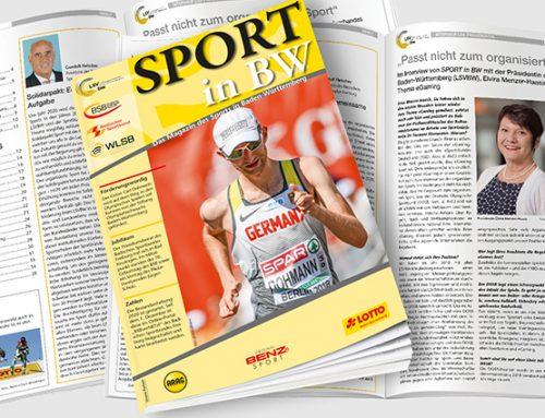 Dezember-Ausgabe von Sport in BW erschienen