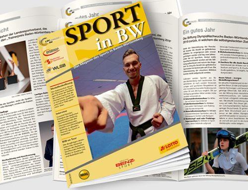 Februar-Ausgabe von Sport in BW erschienen